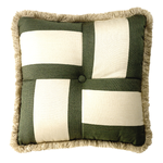 Square Puzzle Pillow - 18 inch