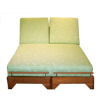 Jensen Jarrah Modular Double Chaise Cushion