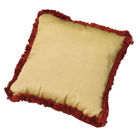 Square Pillow with Fringe 18 inch