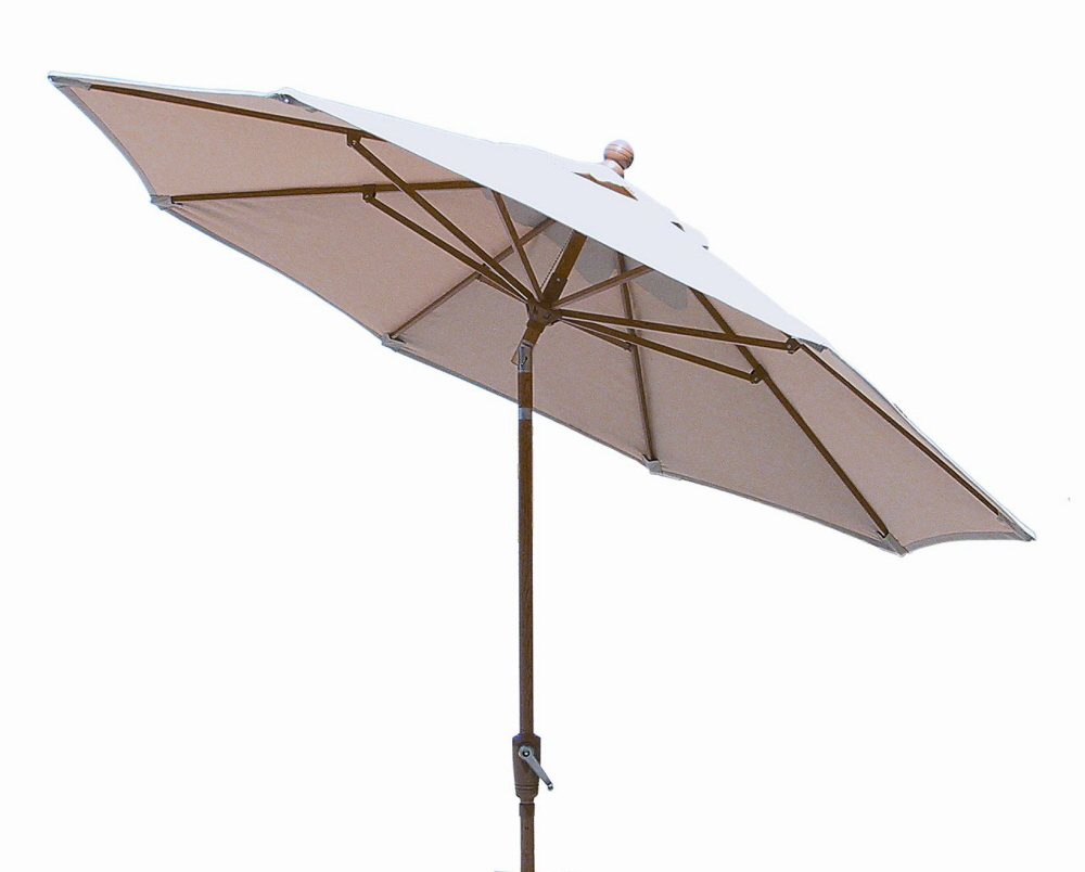 umbrellas and bases :: 9 foot auto tilt market umbrella 9 Foot Umbrella Base